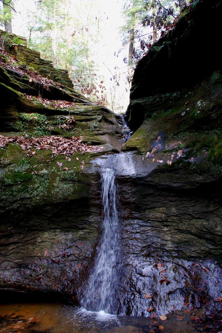 Canyon Waterfall by Sedjmier
