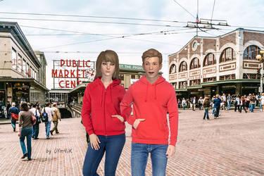 Walk in Seattle