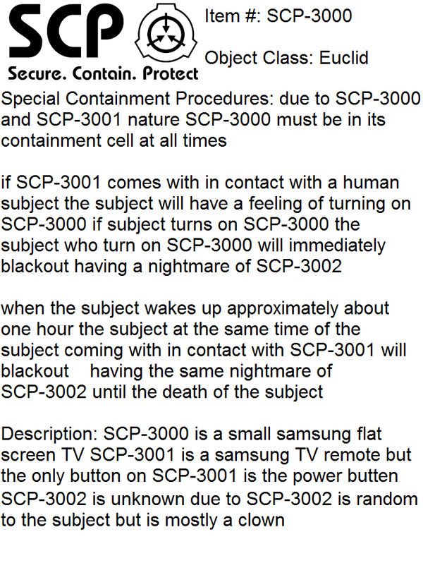 crappy fan scp by Sticks2229 on DeviantArt