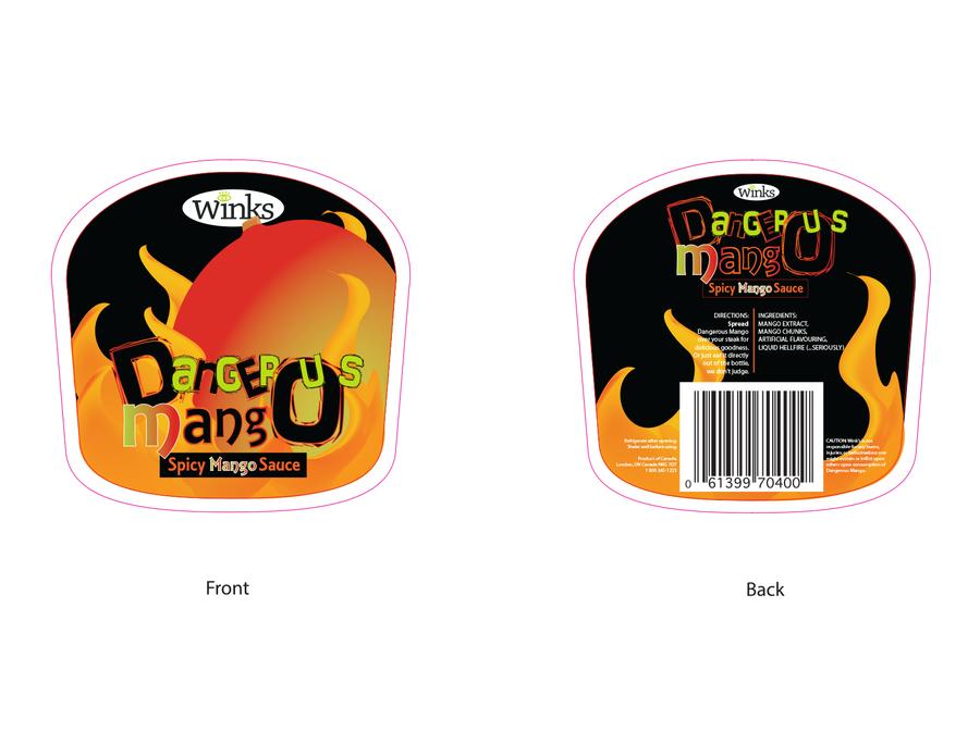 Wink's Bottle Label by meggyweggy