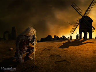 Os gigantes de Quixote by williansart