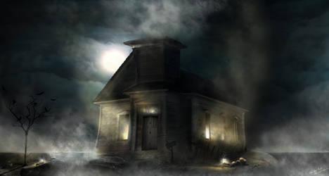 Haunted Mall by williansart