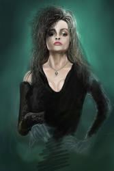 Bellatrix Lestrange by williansart