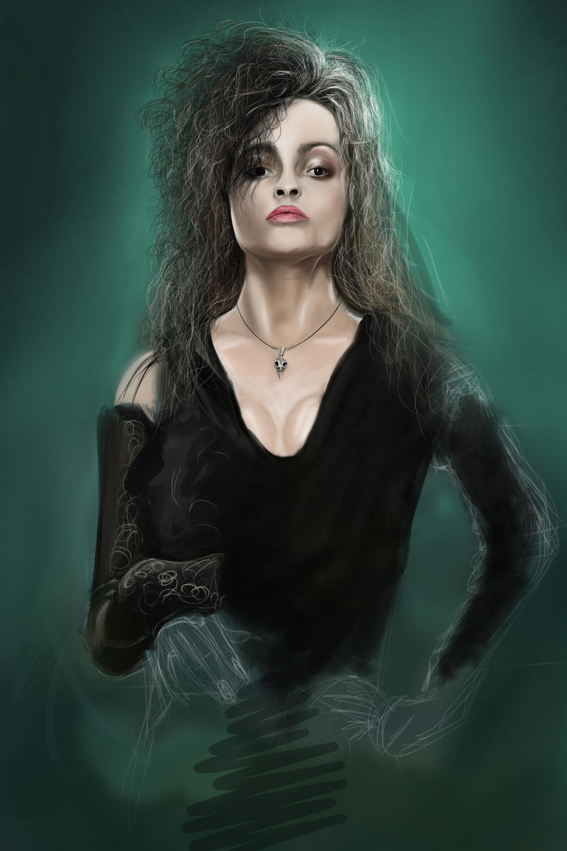 Bellatrix Lestrange by williansart on DeviantArt