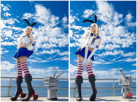 shimakaze cosplay photoshoot by @fanored by FanoRED