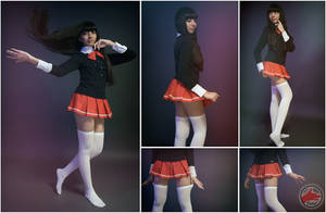 zettai Ryouiki Photo Concept  by @fanored
