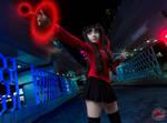rin tohsaka Cosplay photoshoot by @fanored