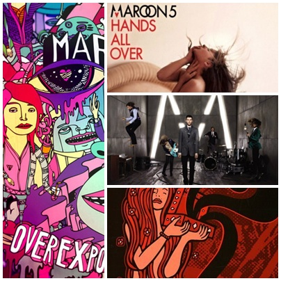 Maroon 5 Albums Tribute by wweM5girlLA