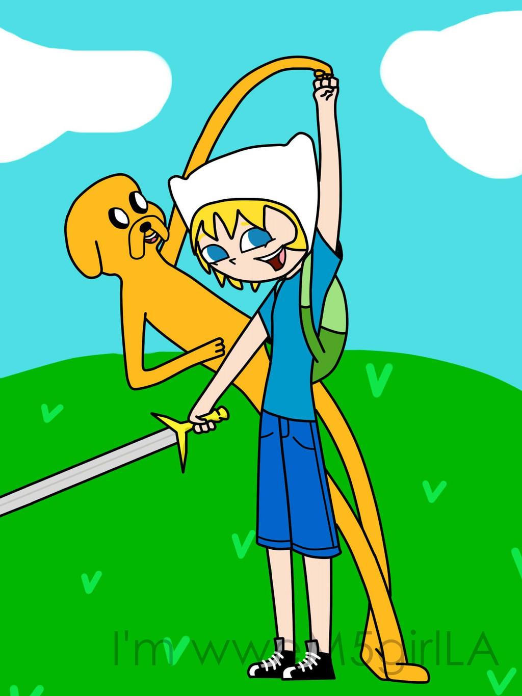Finn n Jake by wweM5girlLA