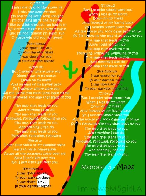 Maps by wweM5girlLA