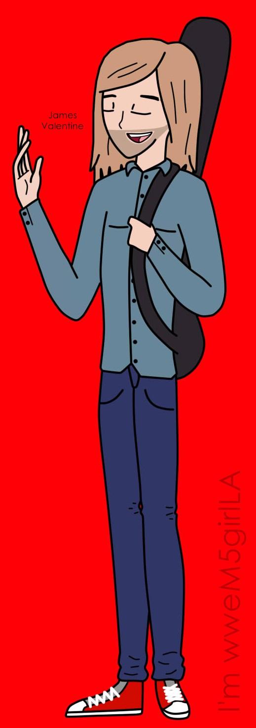 James Valentine Toon by wweM5girlLA