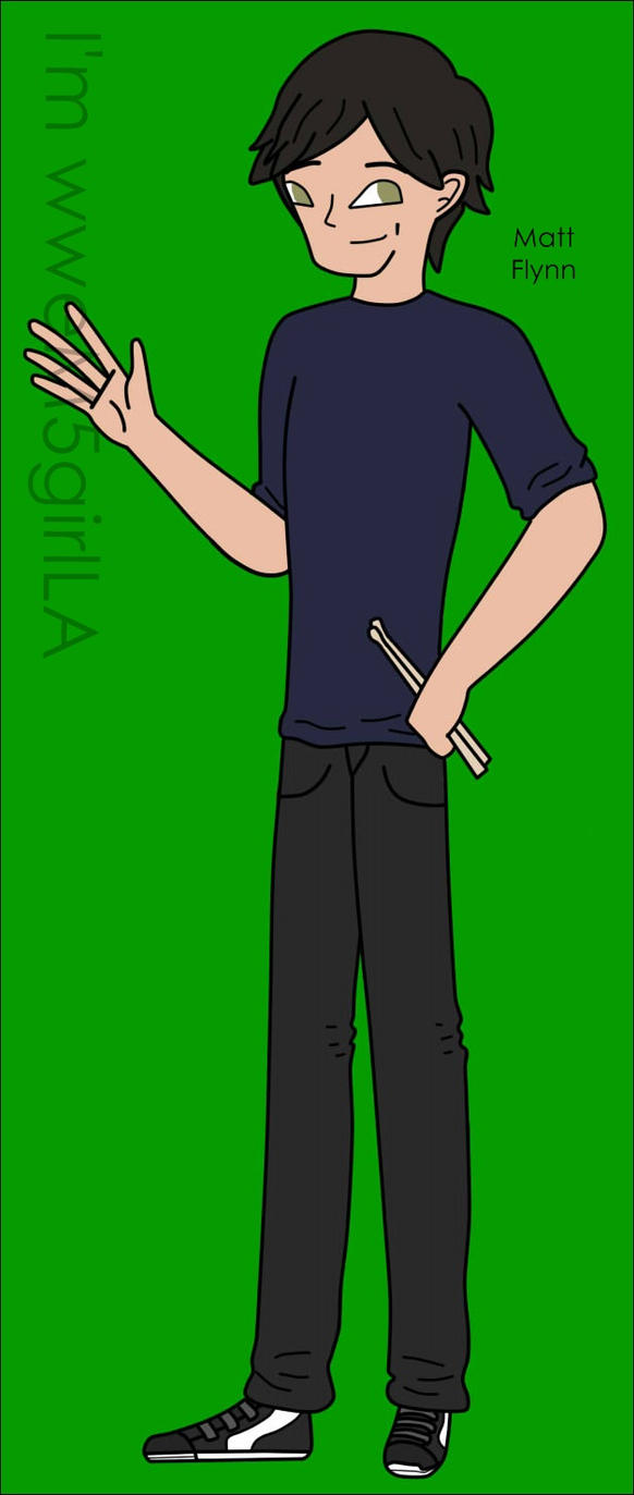 Matt Flynn Toon by wweM5girlLA