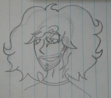 Dan Sketch #1 by wweM5girlLA
