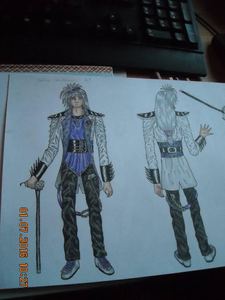 Lycan male fashion, Gothic Gentlman Set by Ayumisan19