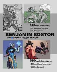 Commission Open: Prices as of April 12 2019