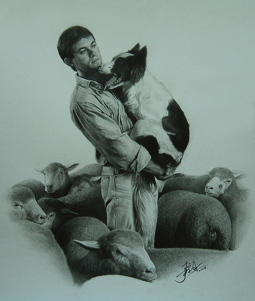 sheepherder by yinyuming
