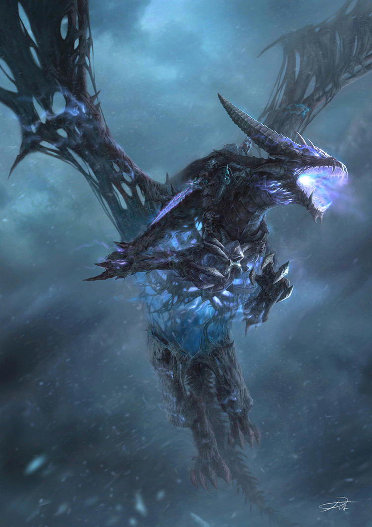 Frost Wyrm by yinyuming
