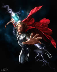 Thor by yinyuming