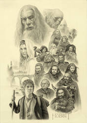 THE HOBBIT (whole vision) by yinyuming