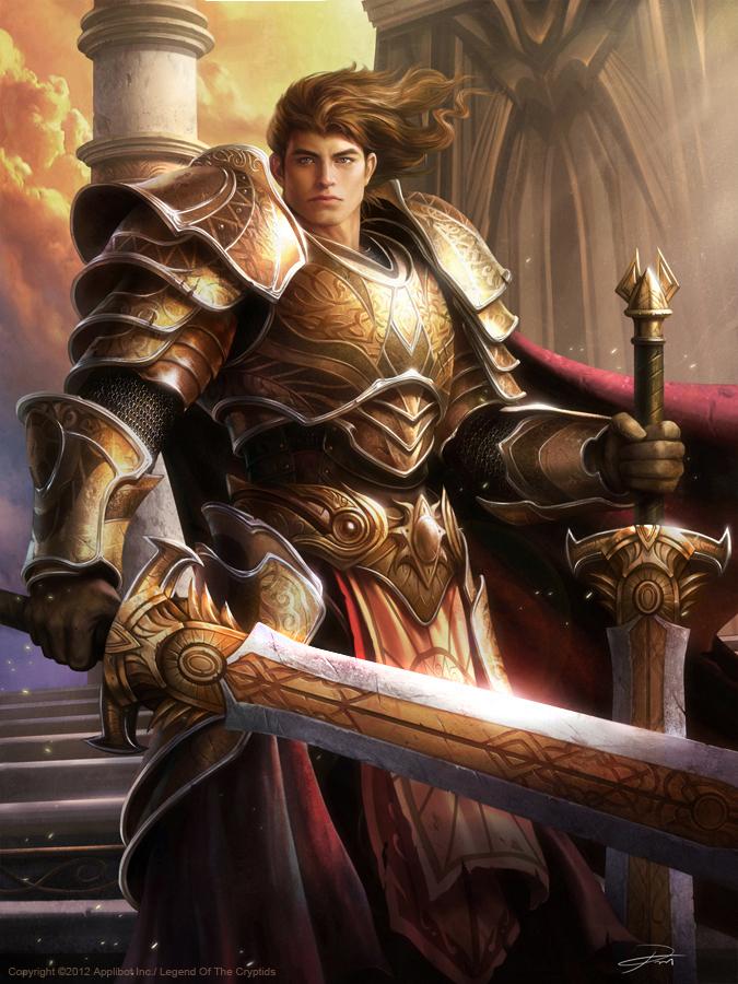 Twin Sword Mage Boris by yinyuming