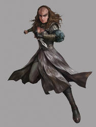 Star Trek_Female Klingon by yinyuming