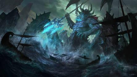 NetEase Game_Poseidon illustration