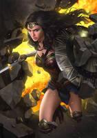 Wonder Woman by yinyuming