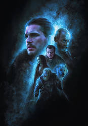 Game Of Thrones Calendar2019 illustrations (12/12)