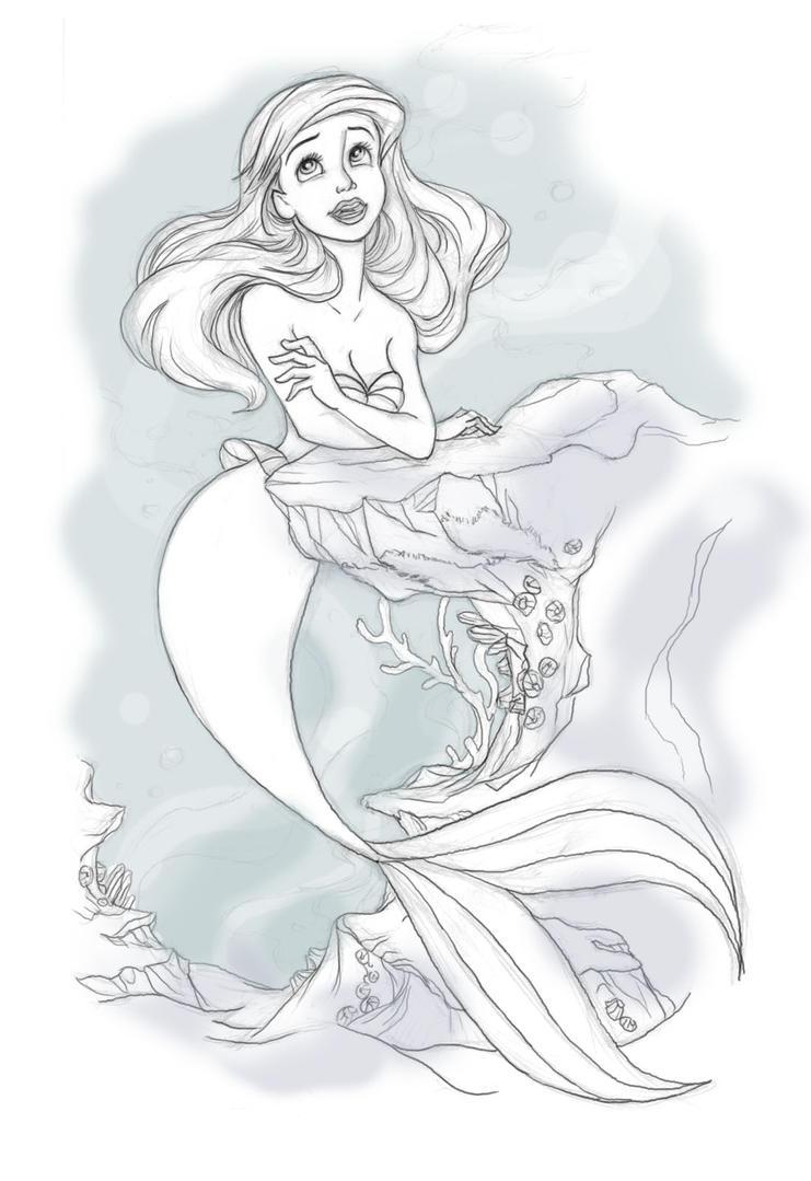 Ariel by xryss