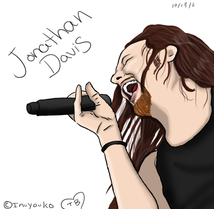 Jonathan Davis singing by InuYouko