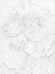 Goku by DBKHD