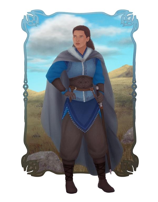 Favorite Tolkien Women: Haleth by rowanbaines