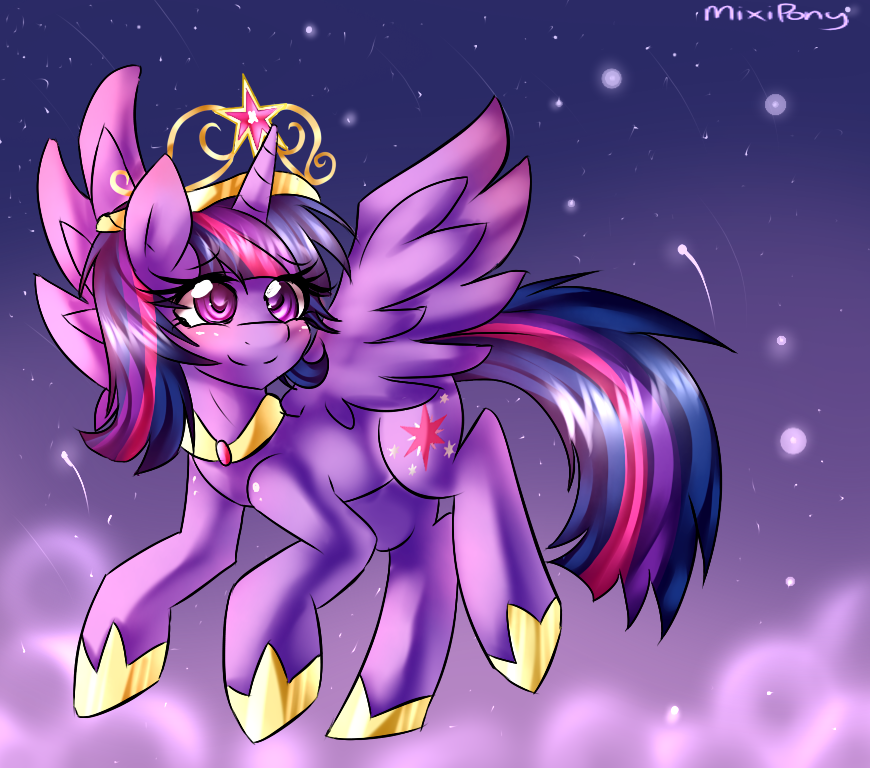 Princess Twilight Sparkle by miss-mixi