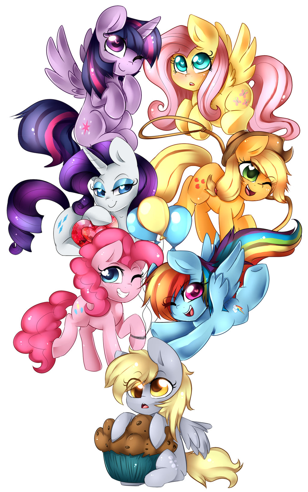 Pony Chibi's!!