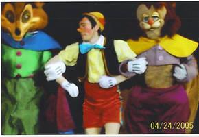 Disney On Ice - Pinocchio, Honest John, and Gideon