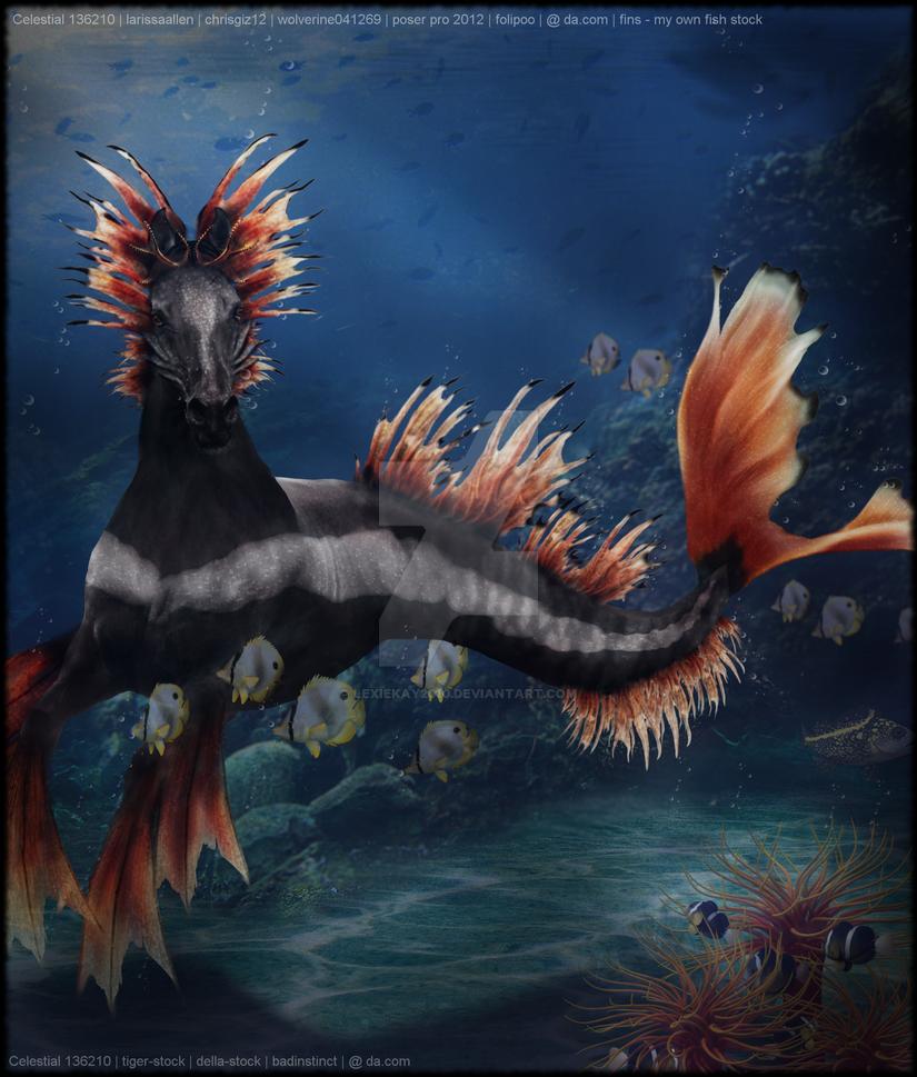 Hippocampus by lexiekay2010
