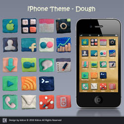 iPhone Theme - Dough by kidcvs