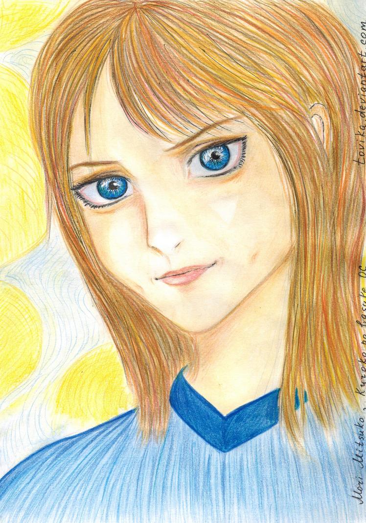 For Oxus, Mori Mitsuko. OC from Kuroko no basuke by Tovika