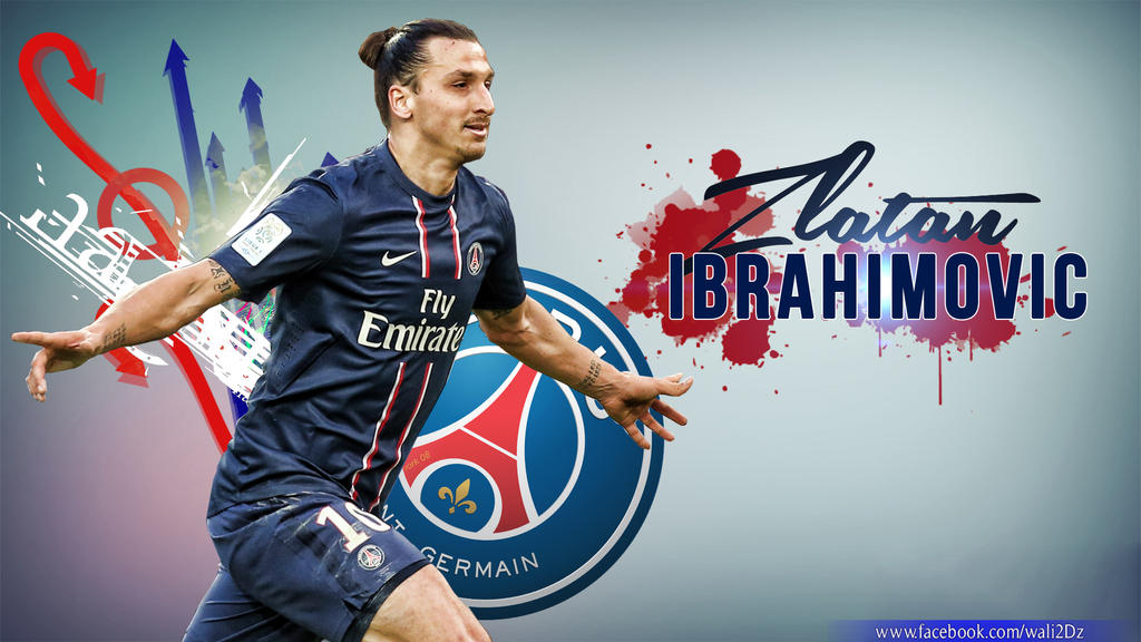 Wallpaper Zlatan Ibrahimovic By Waliddz