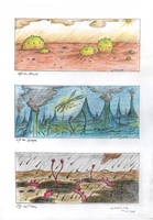 Life on Mars, Europa and Titan by MickMcDee