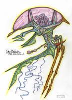 Sky Medusa by MickMcDee