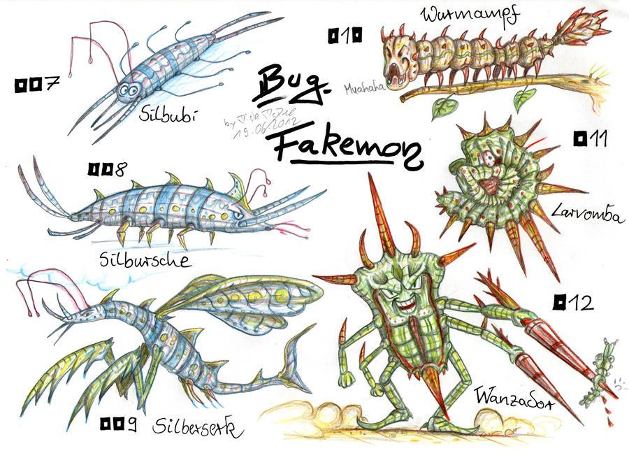 Bug Fakemon By MickMcDee On DeviantArt