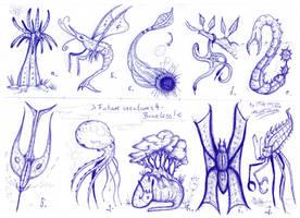 Future creatures 4 - Boneless! by MickMcDee