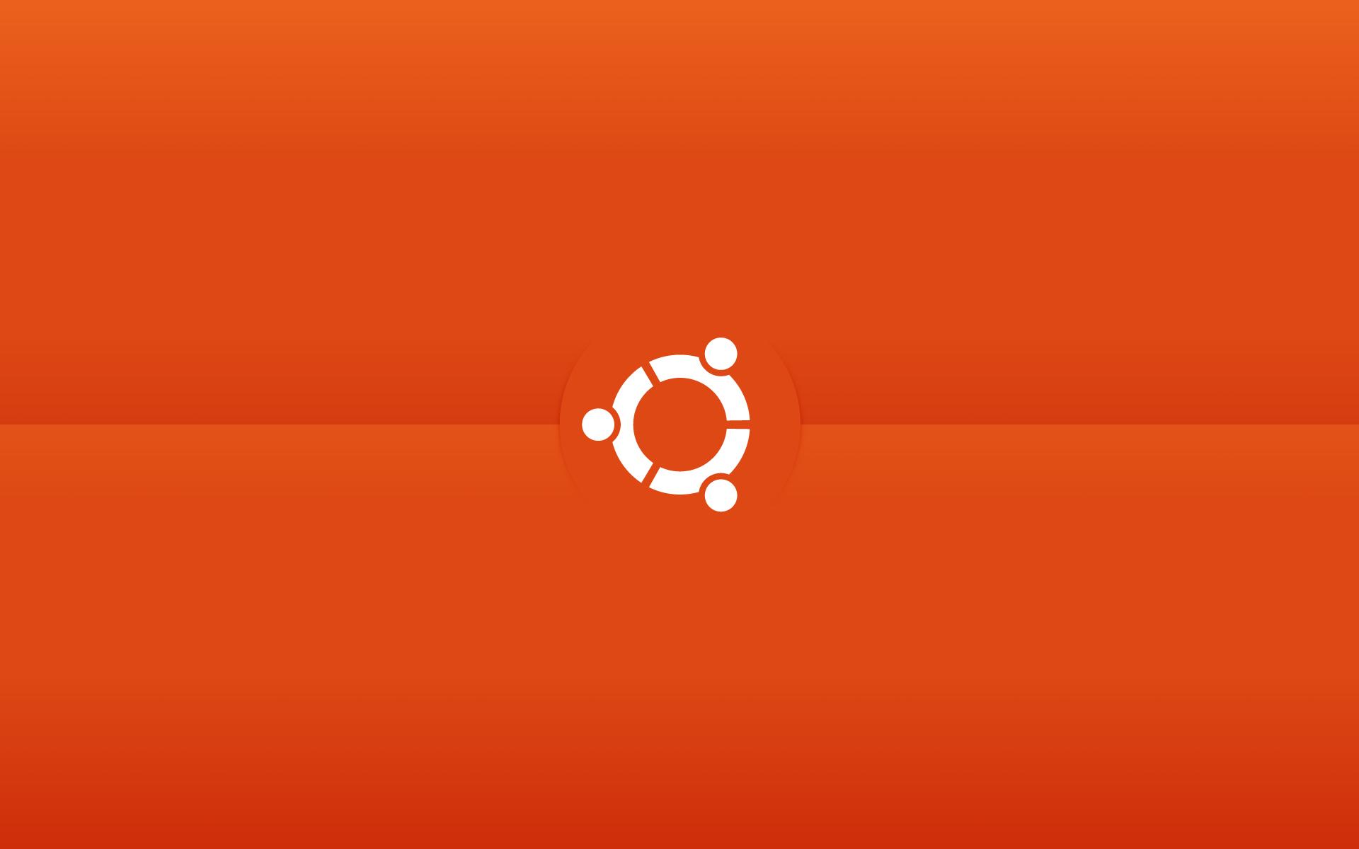 ubuntu minimalistic wallpaper by CajeFM