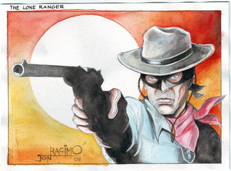 The Lone Ranger by joraz007