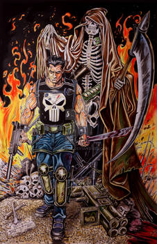The Punisher Colored