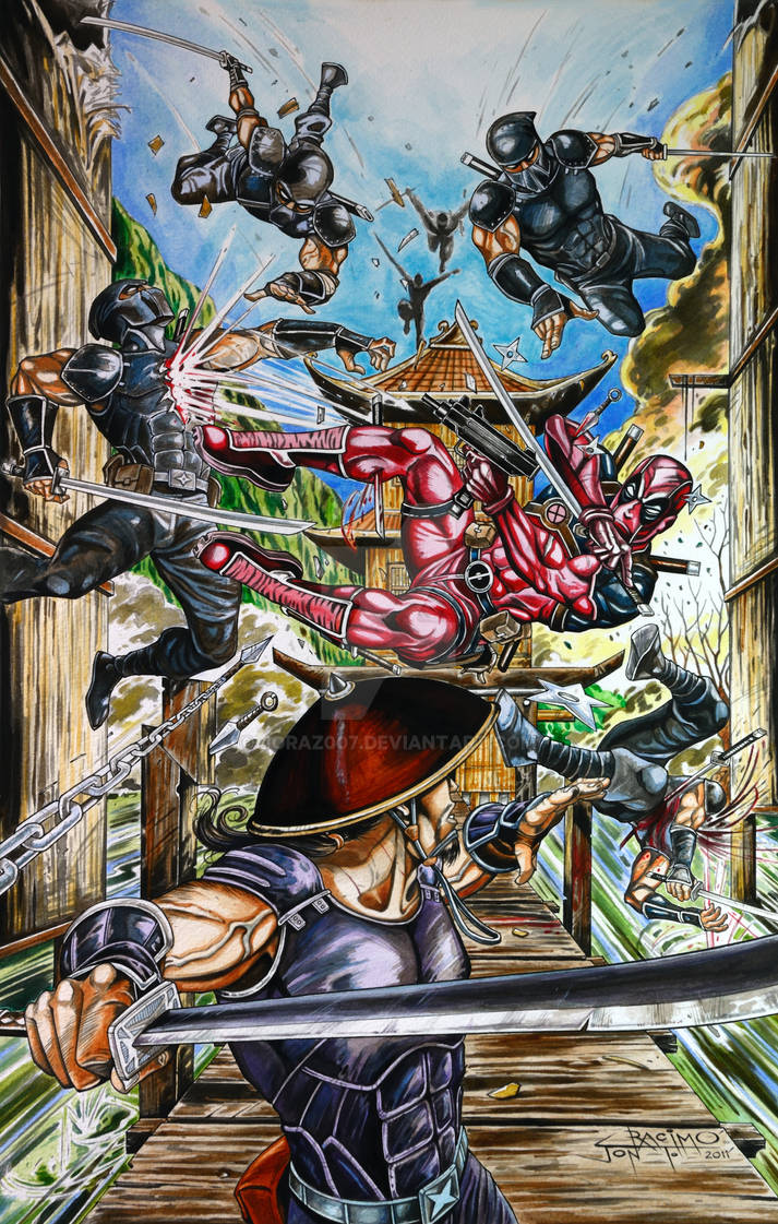 Deadpool Vs Colored