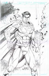 Superman New 52 costume by joraz007