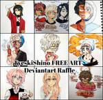 FREE ART GIVE AWAY/RAFFLE [CLOSED/WINNER] by TyeskiShino