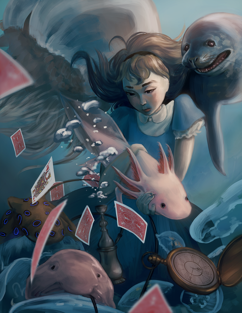 Alice's Adventures in Underwaterland by Cheesycorn